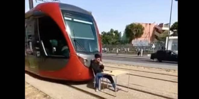 Casablanca: Prison ferme pour le jeune ayant bloqué le tramway