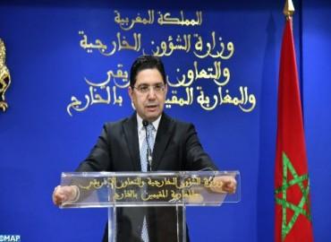 M. Bourita salue le rôle du Danemark dans le renforcement de la relation entre le Maroc et l'UE