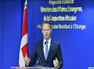 Ministre danois des AE: Le Maroc un