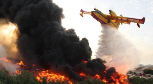 """incendie à Chefchaouen : un feu de forêt """"presque sous contrôle"""", environ 1.100 ha ravagés"""
